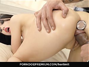 HER restrain - tough ass fucking and face fuck with Sasha Rose