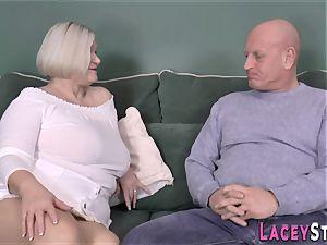 breast fucking british grandma
