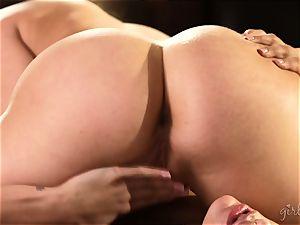 gash munching hotties Mia Malkova and AJ Applegate