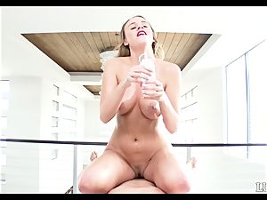 pov style boinking well-lubed up naughty Alexis Adams