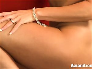 ripped up Brandi enjoy undresses and drains
