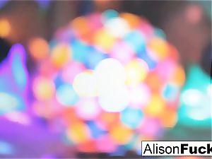 spectacular immense jugged disco ball honey