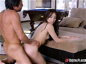 ultra-kinky Aria Alexander seduces her naughty stepdad