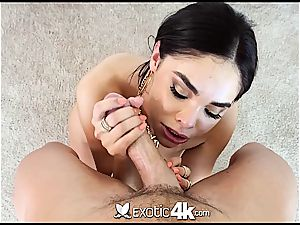 Selena Rose jiggles rump on a stiff dick