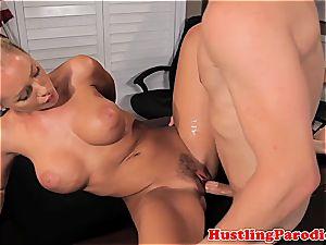 Nicole Aniston seducing scotts boner