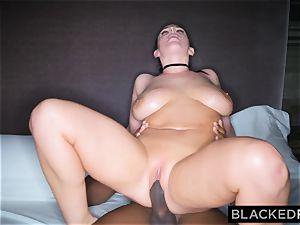 BLACKEDRAW black dude takes Angela white in her hotel apartment