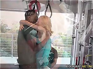 Aaliyah love pokes With Her Trainer - cuckold Sessions