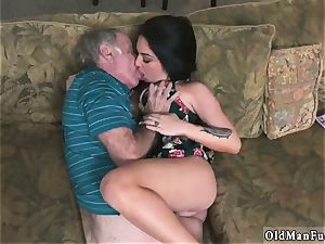 lady and aged nubile eat butt first-ever time Frannkie s a prompt learner!