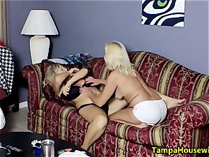 Ms Paris Rose in two ultra-kinky ladies with toys