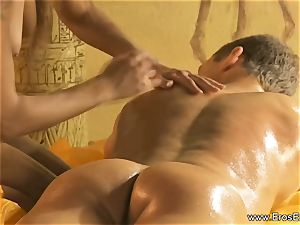A loosening Kind Of fuck-stick and figure massage
