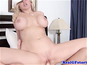 meaty jugged towheaded housewife loving penis