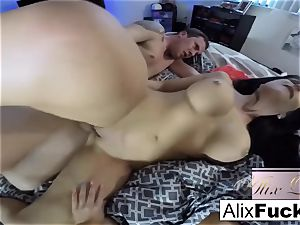 super-fucking-hot first-timer three way with Alix Lynx and Jaclyn Taylor