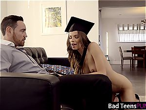 Jillian is a crazy college girl who needs to get punished