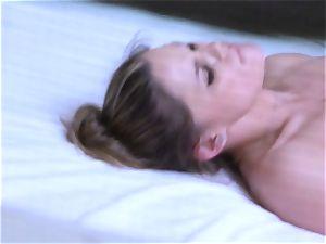 Brianna dark-skinned caught on spy cam as she plumbs