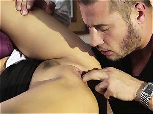Asa Akira cheats in her mates super-naughty fantasy