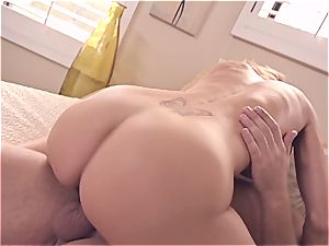 sexually aroused cougar screws her husband