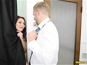 Latina maid Katya Rodriguez clit delectations with Monique Alexander
