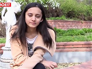 LETSDOEIT - kinky teenage likes massaging Her clit to orgasm