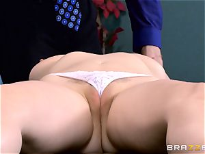 Patient Penny Pax plowed by hefty dicked doc