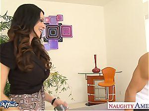 Alluring Ariella Ferrera mischievous for her neighbor