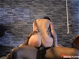 Monique Alexander vag thrashed scrotum deep then creamed on her face by bbc