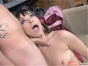 Dana DeArmond gets her uber-sexy taut vagina licked and played with