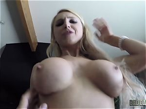 Alix Lynx point of view labia thrashed by her stepdad