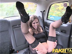 fake cab Posh damsels swollen gash and caboose banged