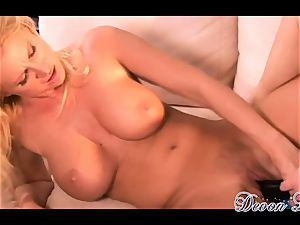 Devon Lee and super-hot stunner nail with lengthy fuck stick