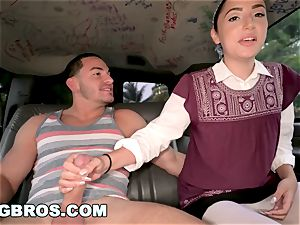 BANGBROS - No Regrets with Becky Sins on The ravage Bus!