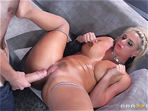Phoenix Marie gets pulverized in the arse by humungous dicked Danny D