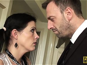 euro marionette dominated with raunchy anal punishment