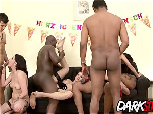 huge-chested honies Stuff Every fuckhole with bbc