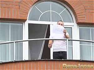 Dane Jones hidden cam drills his marvelous neighbour