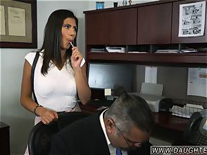 mummy catches compeer duddy s daughter very first time Bring Your duddy s daughter to Work Day